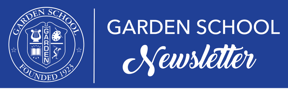Garden School Newsletter